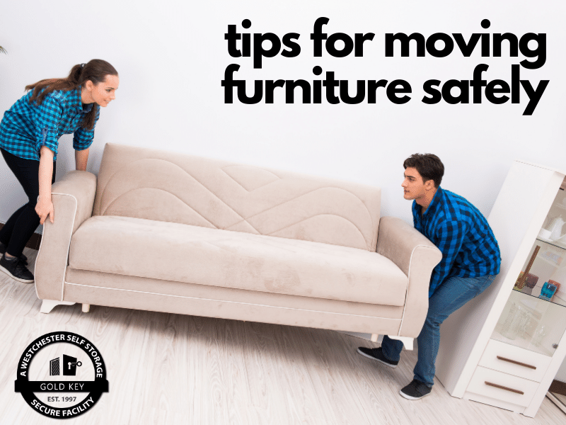 tips for moving furniture Pleasantville Self Storage